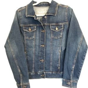 Old navy rockstar blue jean jacket medium